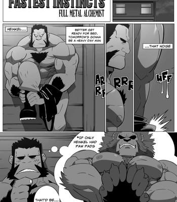 Darius x Heinkel - The Fastest Instincts Porn Comic 001