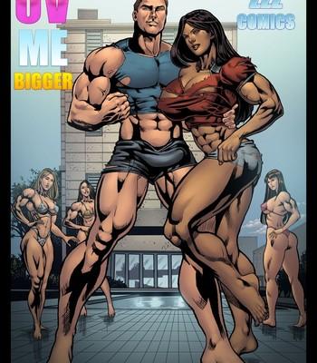Porn Comics - UV ME Bigger 1 PornComix