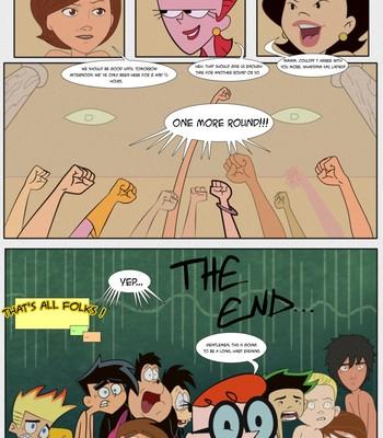 The Maximum Orgy Of MILF's Cartoon Porn Comic