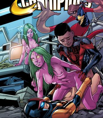 Porn Comics - Champions Cartoon Porn Comic