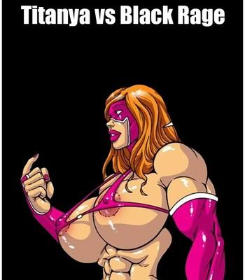 Omega Fighters 10 - Titanya vs Black Rage Porn Comic 001