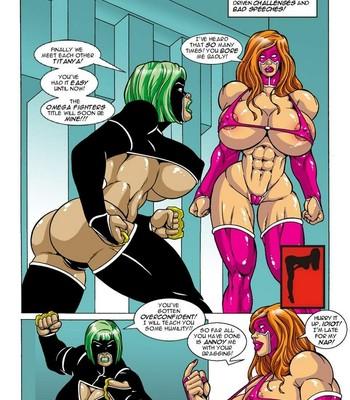 Omega Fighters 10 - Titanya vs Black Rage Porn Comic 002
